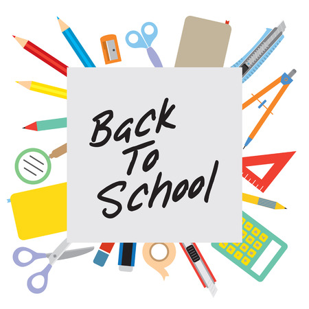 Back to School Concept  Stock Vector - 24742677