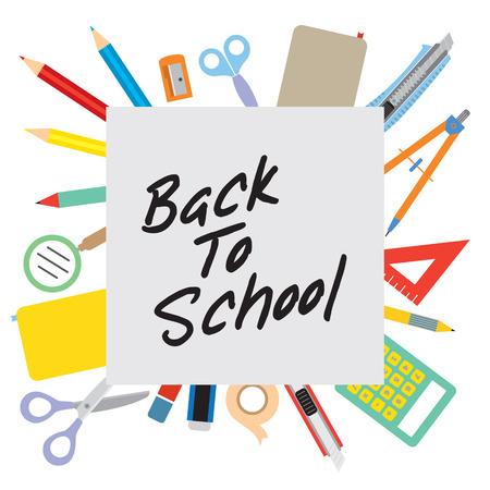 Back to School Concept  Stock Vector - 24742677