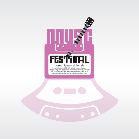 Music Festival Vector Illustration  Vector