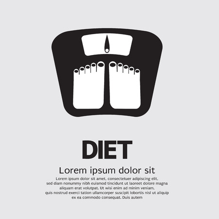 Dietetics Concept Vector Illustration Illustration
