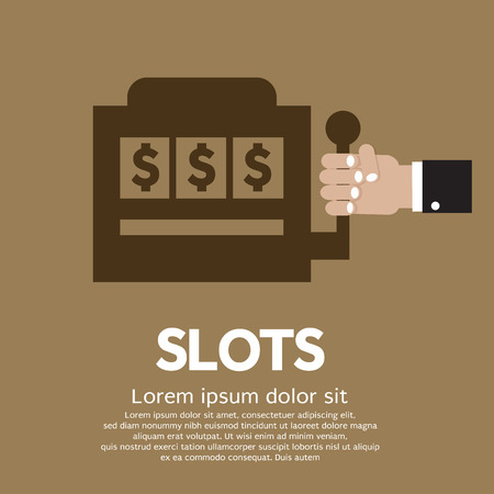 machine: Slots Vector Illustration Illustration