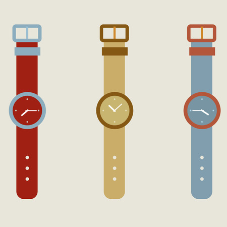 wristwatch: Set Of Wristwatch