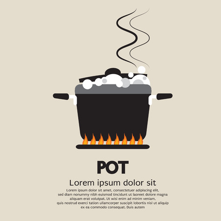 Cooking Pot  Illustration