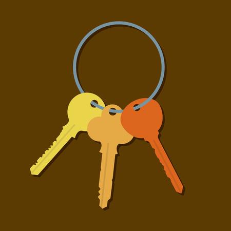 keyring: Keys In A Bunch