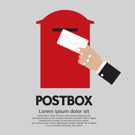 post box: Postbox  Illustration