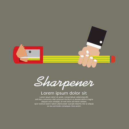 pencil sharpener: Pencil Sharpener Illustration