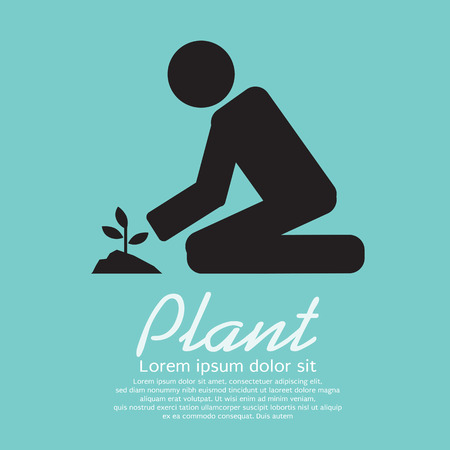 Planting Illustration Vector