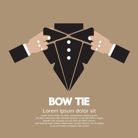 Bow Tie  Illustration Illustration
