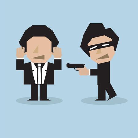 felon: Bandit Vector Illustration Illustration