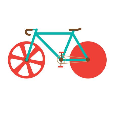 bike vector: Ilustraci�n vectorial Road Bike