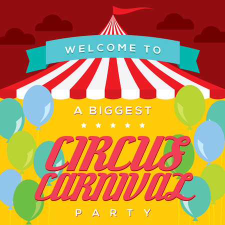 poster template: Circo Carnevale Poster Template