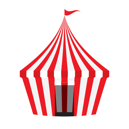 tent vector: Circus Tent Vector Illustration Illustration