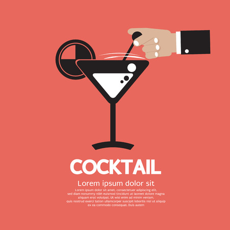 Cocktail Vector Illustration Vector