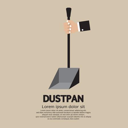 primitive tools: Dustpan Vector Illustration