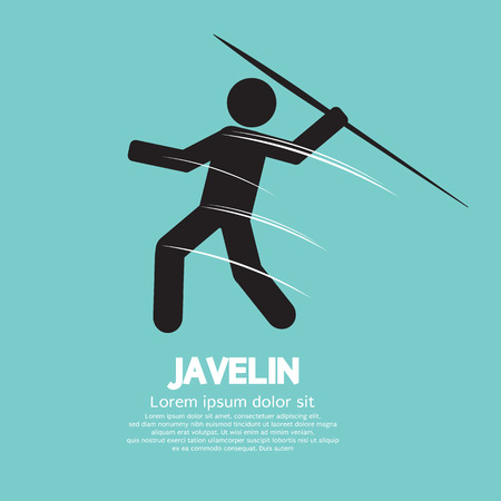 javelin: Javelin Vector Illustration
