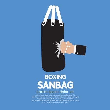 sandbag: Sandbag Vector Illustration