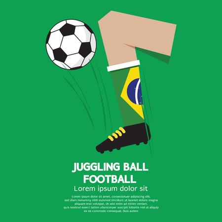 juggling: Juggling Ball Football or Soccer