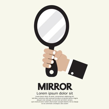 Mirror Vector Illustration Illustration