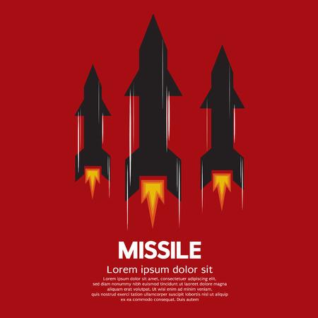 ミサイルのベクトル図  イラスト・ベクター素材