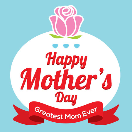 Happy Mother s Day Vector Illustration Vector