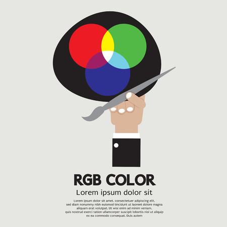 rgb: RGB Color Palette Vector Illustration
