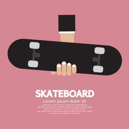Skateboard Vector Illustration Vector