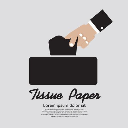 tissue paper: Tissue Paper Vector Illustration Illustration