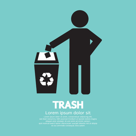 plastic recycling: Recycling Vector Illustration