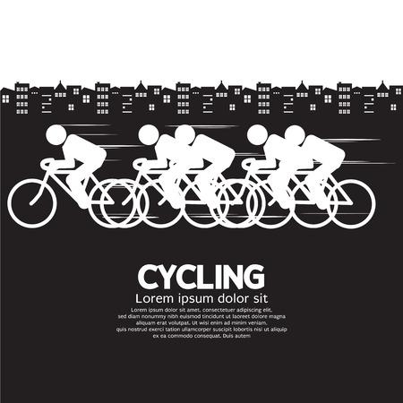 Cycling Vector Illustration