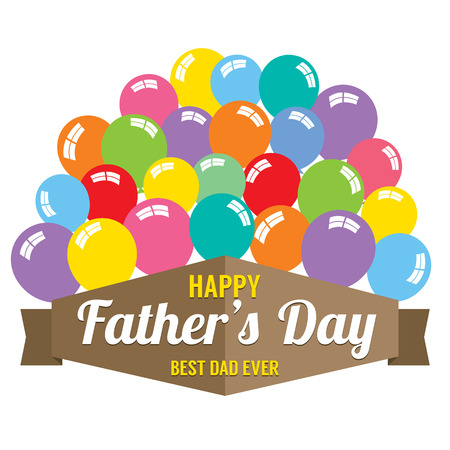 father  s day: Happy Father s Day Vector Illustration