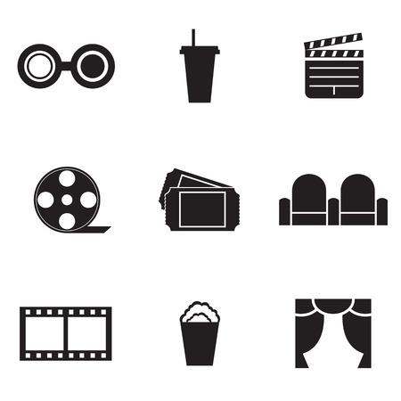 cinema seats: Cinema Icons