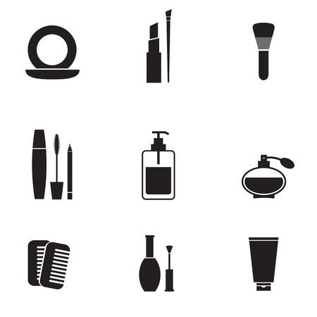 Cosmetici Icons Set