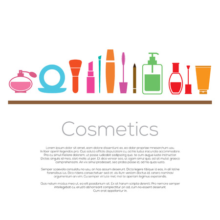 Cosmetics Vector Illustration Vector