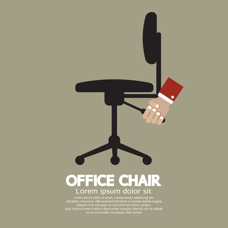 vector chair: Office Chair Vector Illustration Illustration
