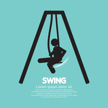 Swing Vector Illustration Vector