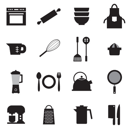 ollection: Utensils Icons set 16