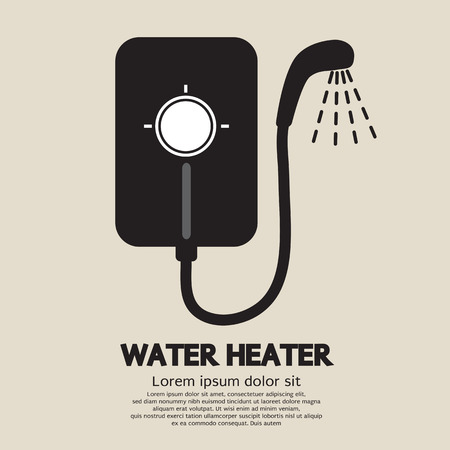 heater: Water Heater Vector Illustration