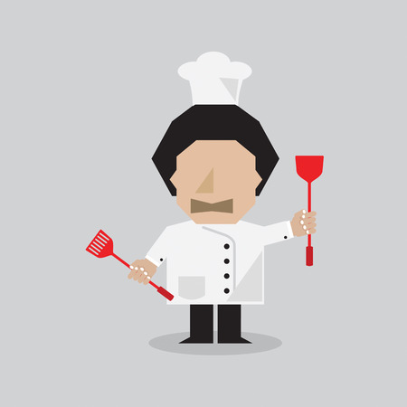 charactor: Chef Vector Illustration