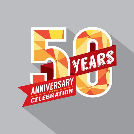 50th Year Anniversary Celebration Design