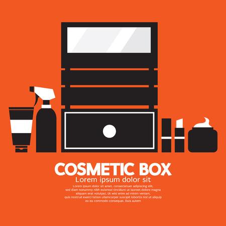 Boîte cosmétique Vector Illustration