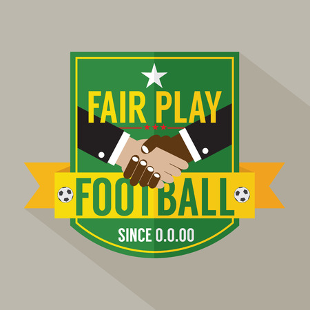 fair play: Fair Play Badge Label Vector Illustration