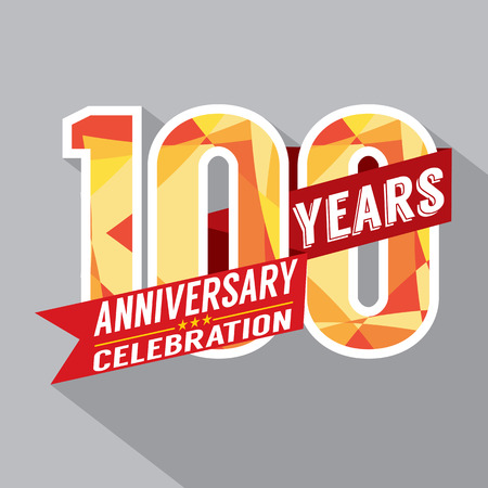 100th Years Anniversary Celebration Design