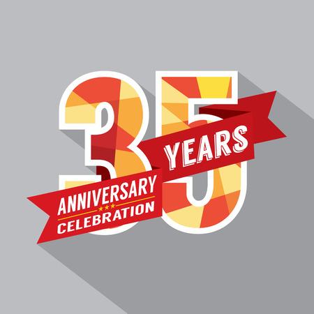 35th: 35th Years Anniversary Celebration Design