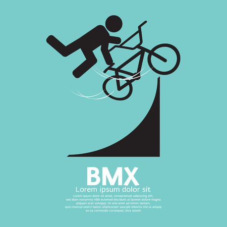bmx bike: BMX Bicycle Sign