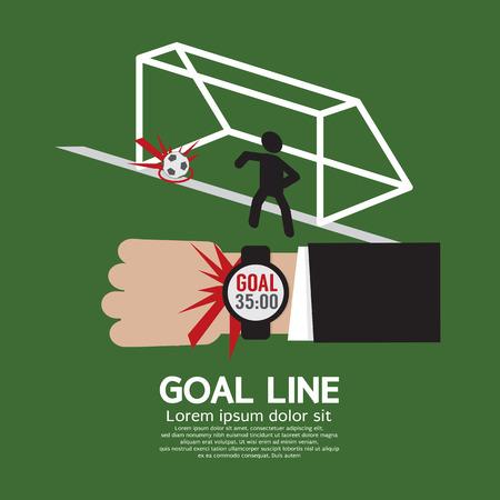 censor: Goal Line Sport  Illustration
