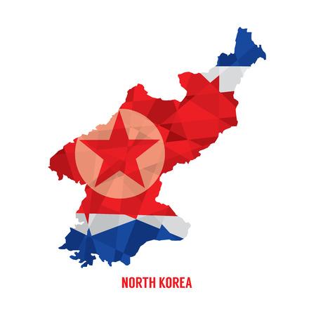 north korea: Map of North Korea
