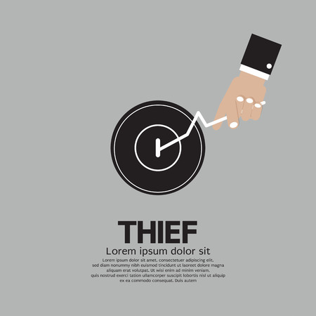 Thief s Hand Turn On Door Knob