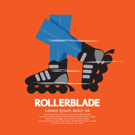 inline: Roller Skates Illustration