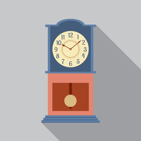 reloj de pendulo: Abuelo Ilustraci�n P�ndulo Reloj Vector