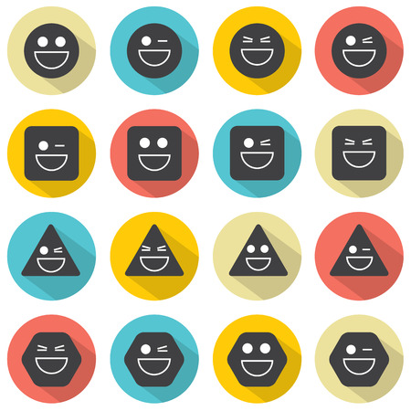 emoticons: Temper Face Icon Vector Illustration